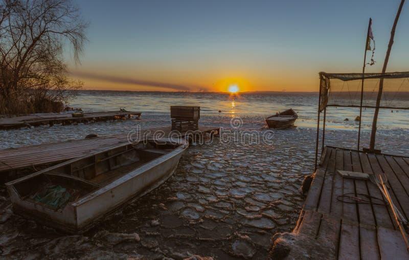 Paraíso para los pescadores fotografía de archivo libre de regalías