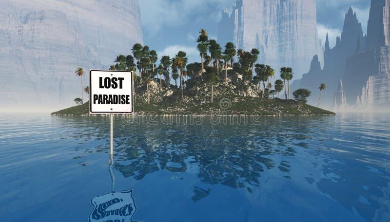 Paraíso perdido imágenes de archivo libres de regalías