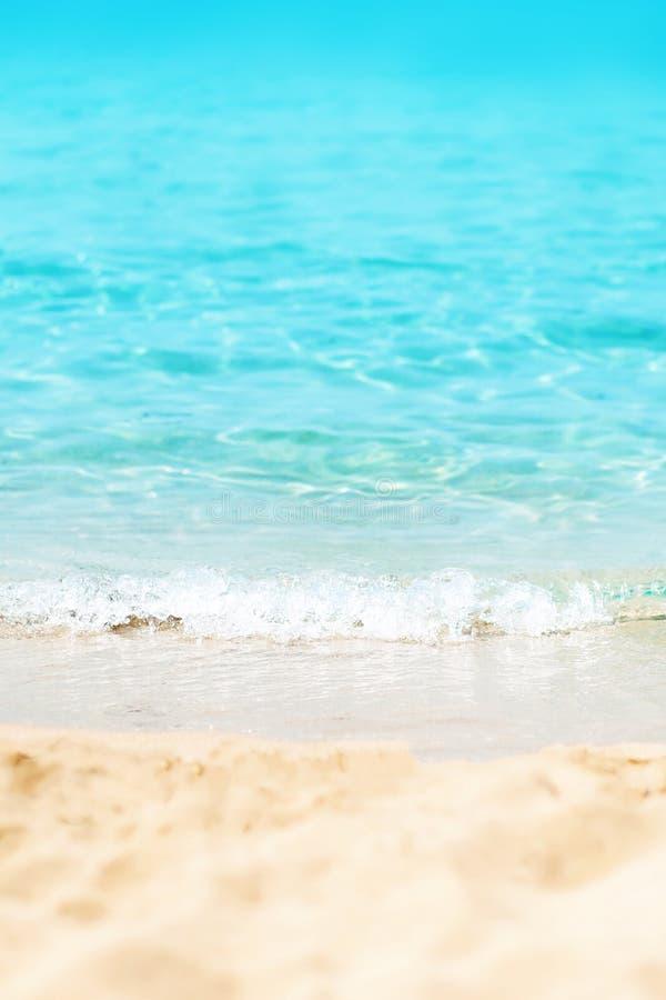 Paraíso/Sunny Beach Divine Coa playa/del mar tropicales del día soleado fotos de archivo libres de regalías