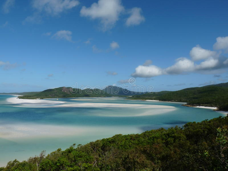 Paraíso tropical imagem de stock