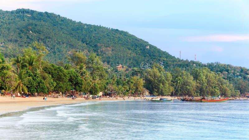 Paraíso tropical asiático da praia imagem de stock royalty free