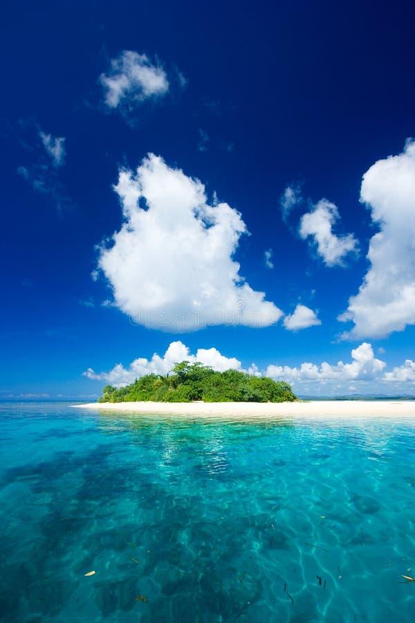 Paraíso tropical das férias da ilha fotos de stock