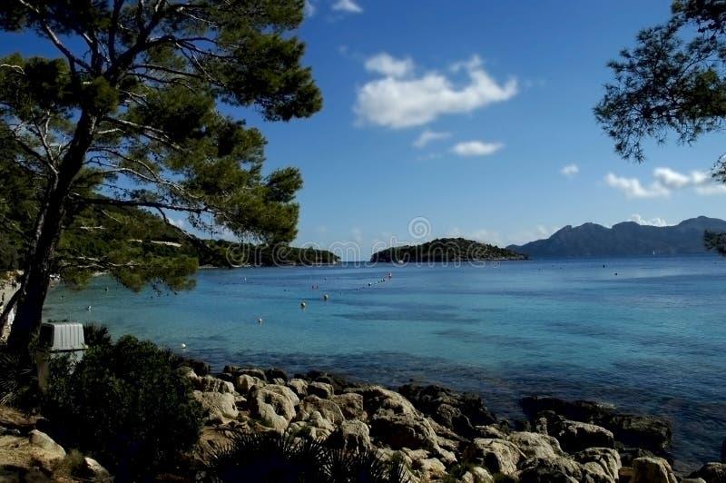 Paraíso tropical de Majorca foto de stock