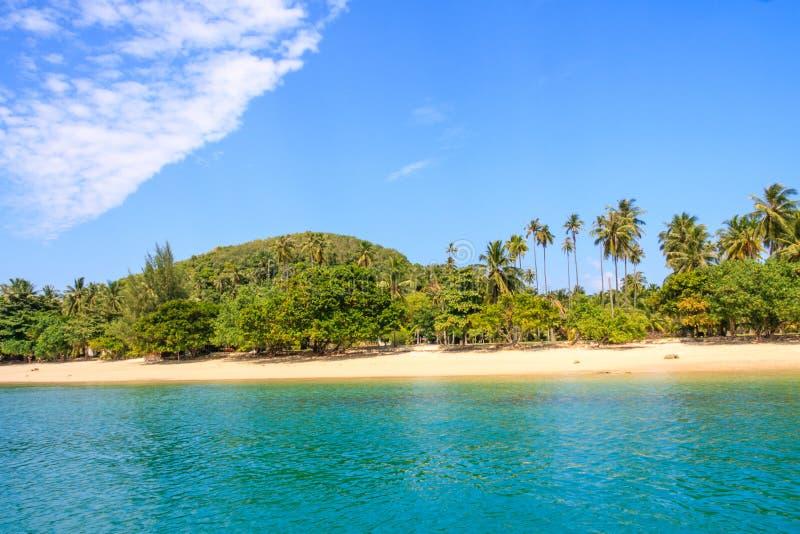 Paraíso tropical Koh Rong de la isla imagen de archivo libre de regalías