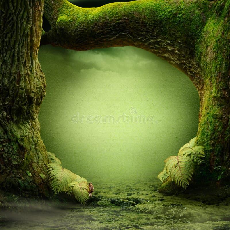 Paraíso verde foto de stock royalty free