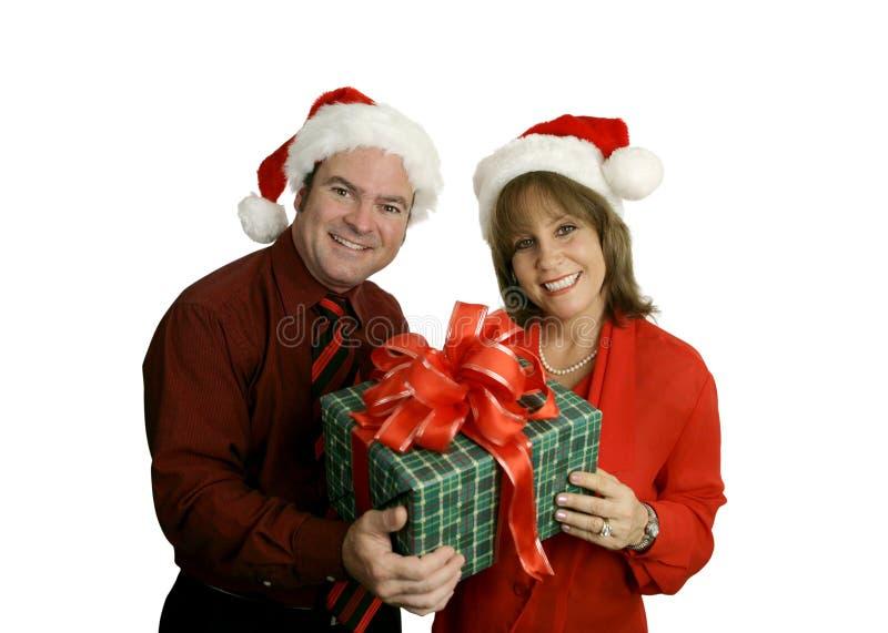 para świąteczne obrazy royalty free