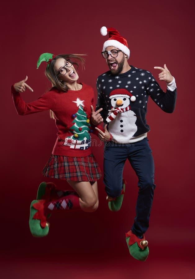 para świąteczne obraz stock