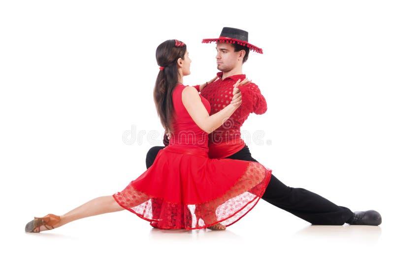 Para Av Dansare Arkivbilder