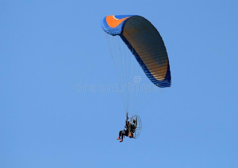 Para-Bewegungssegelflugzeug stockfotografie