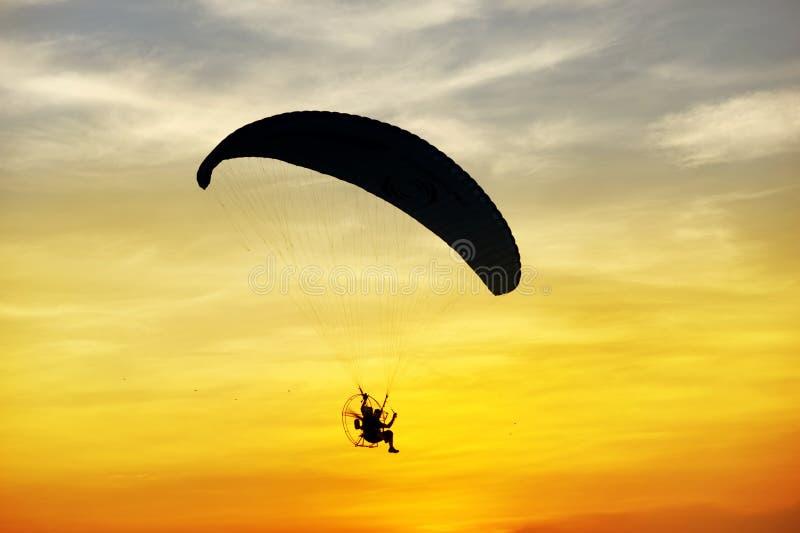 Para-Bewegungssegelflugzeug lizenzfreie stockbilder