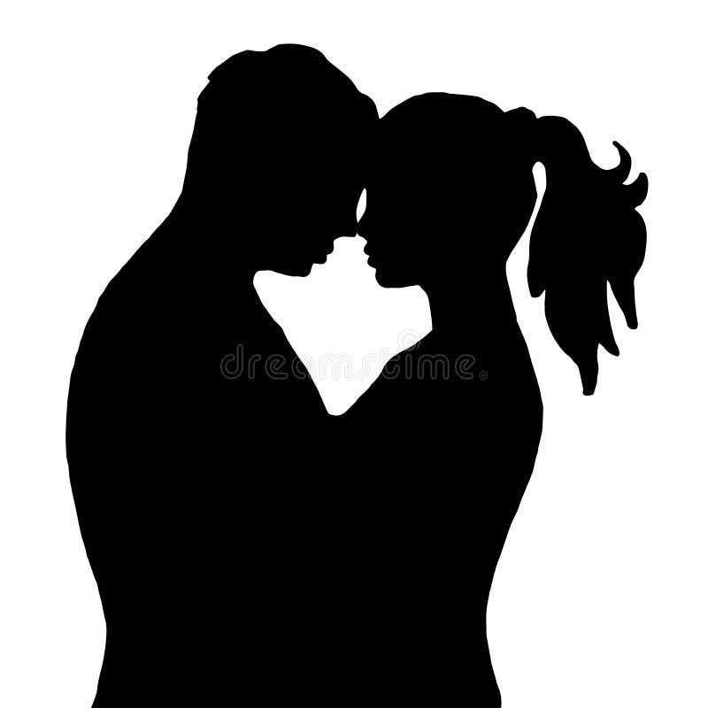 para buziak Na białym tle ilustracji