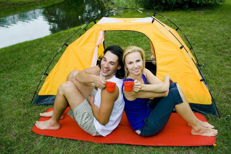 para campingowa zdjęcie royalty free