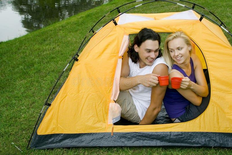 para campingowa obrazy royalty free