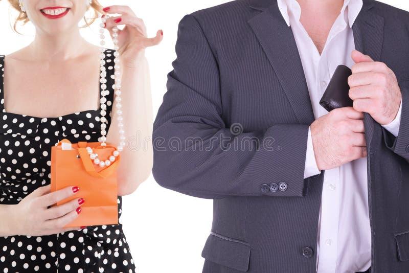 Para dorosły odizolowywający na białym tle fotografia stock