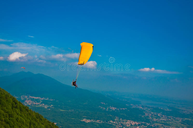 Download Para-glider stock photo. Image of enjoyment, outside - 16039084