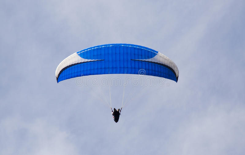 Download Para glider stock photo. Image of descent, blue, flight - 23438858