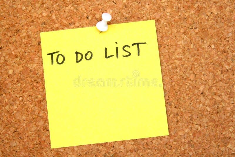 Para hacer la lista fotos de archivo