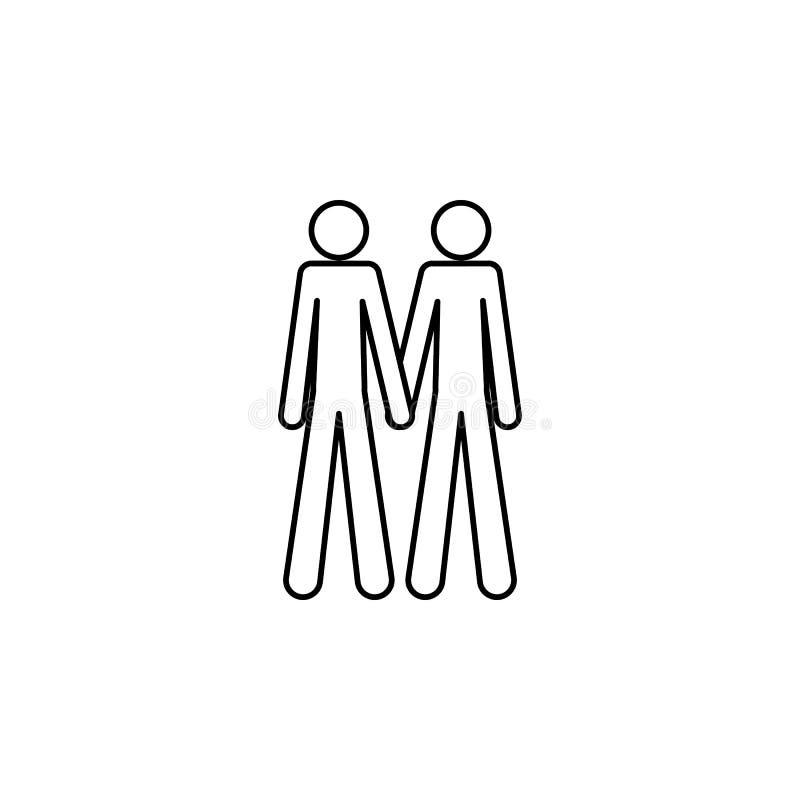 para homoseksualista ikona Element LGBT ilustracja Premii ilości graficznego projekta ikona Znaki i symbol inkasowa ikona dla sie ilustracja wektor