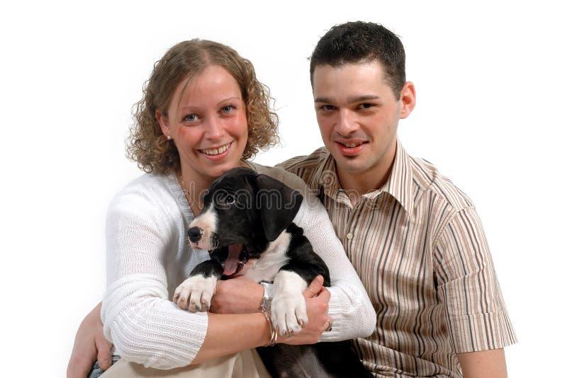 Para i pies zdjęcia royalty free