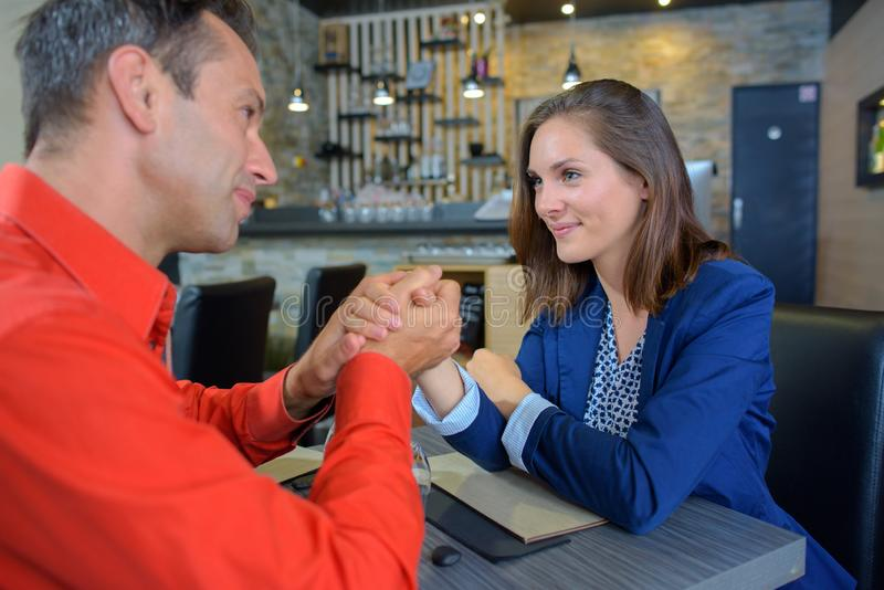 Para i zawiadomienie robić zdjęcie royalty free