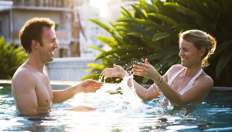 Para kochanka aktywności szczęścia styl życia zdjęcia stock
