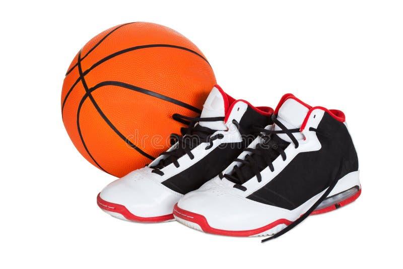 Para koszykówka buty obraz royalty free