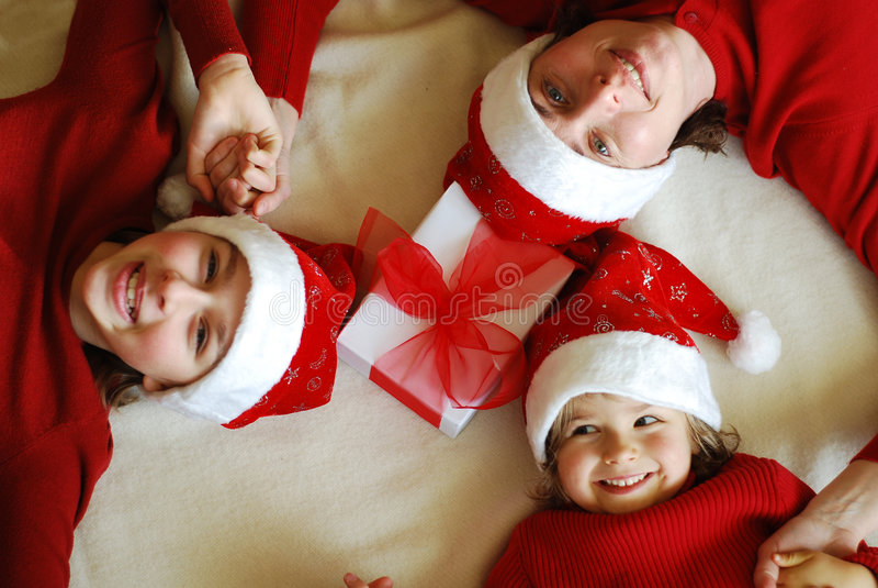 Para la Navidad que espera imagen de archivo