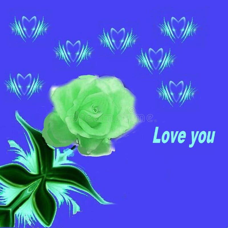 Para los que aman y que quieren ser amadas este modelo - la imagen stock de ilustración