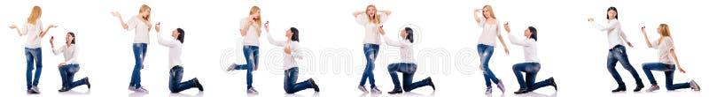 Para mężczyzna i kobieta zdjęcie stock