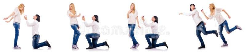 Para mężczyzna i kobieta obrazy stock