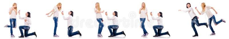 Para mężczyzna i kobieta fotografia stock