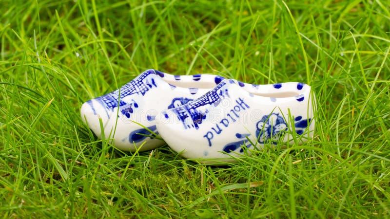 Para mała porcelana zatyka od Holandia obrazy stock