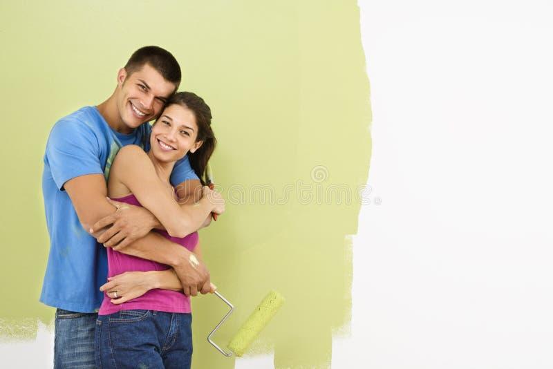 para maluje się uśmiecha zdjęcia royalty free