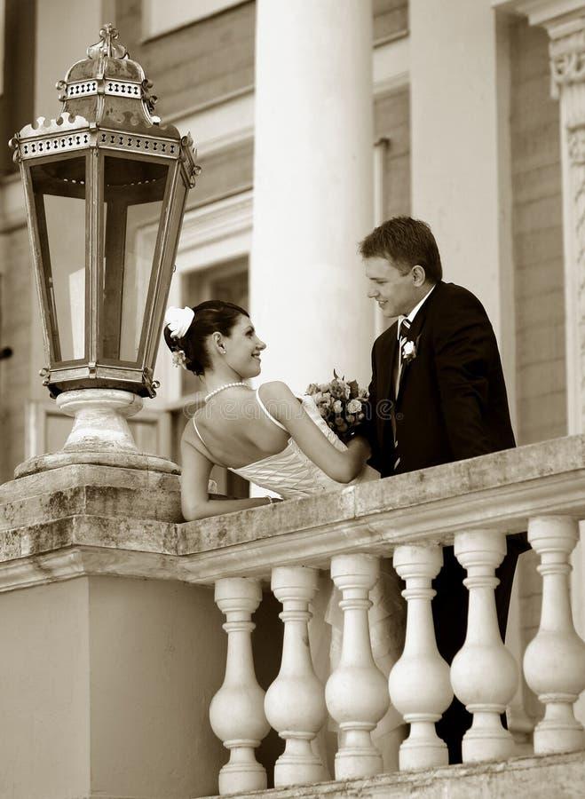 para nowożeńców obraz royalty free