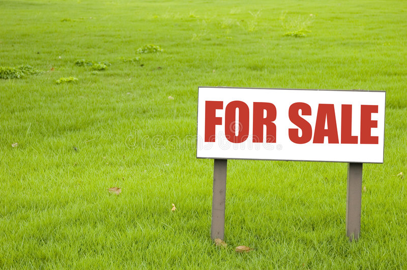 Para o sinal da venda fotografia de stock