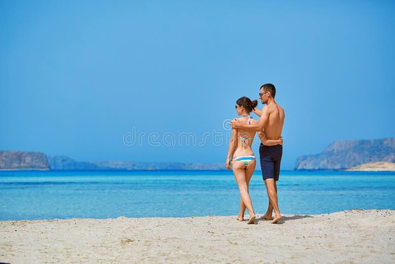 para plażowa zdjęcie royalty free
