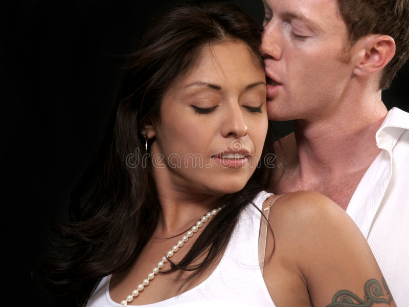 para pocałunek zdjęcia royalty free