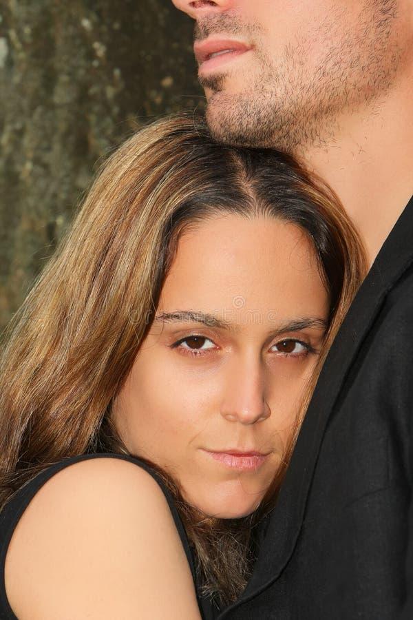 para portret zdjęcie royalty free