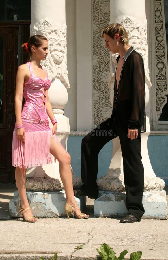 para romantyczna obraz royalty free