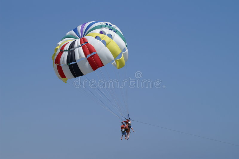 Download Para sailing stock image. Image of extreme, activities - 3445333