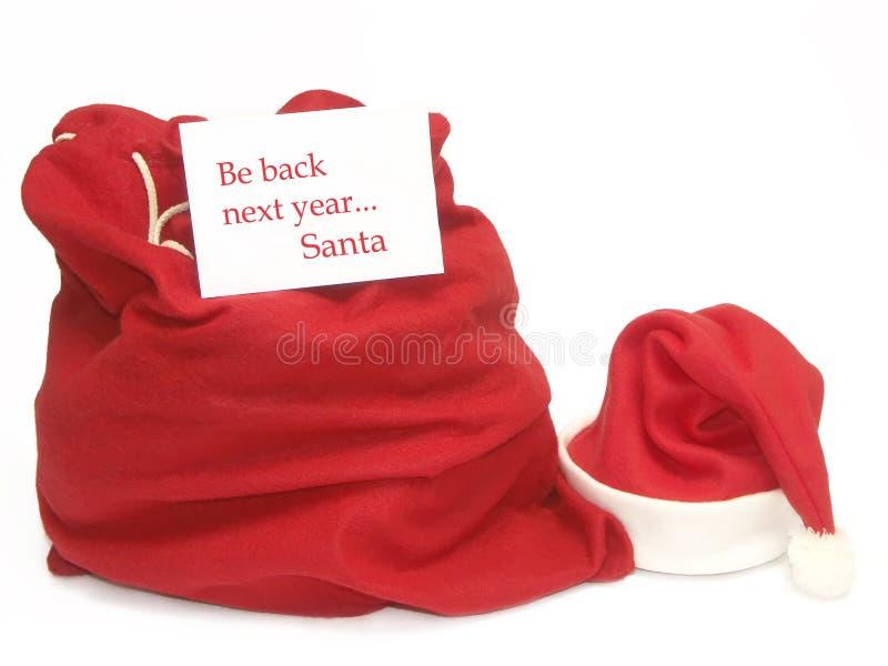 Para Santa que espera fotografía de archivo