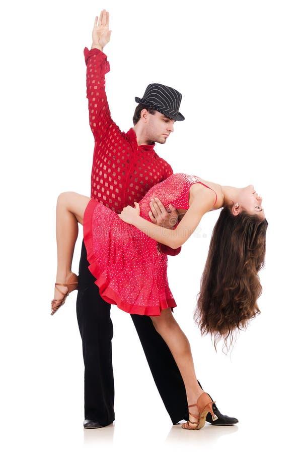 Download Para tancerze obraz stock. Obraz złożonej z odosobniony - 30220061