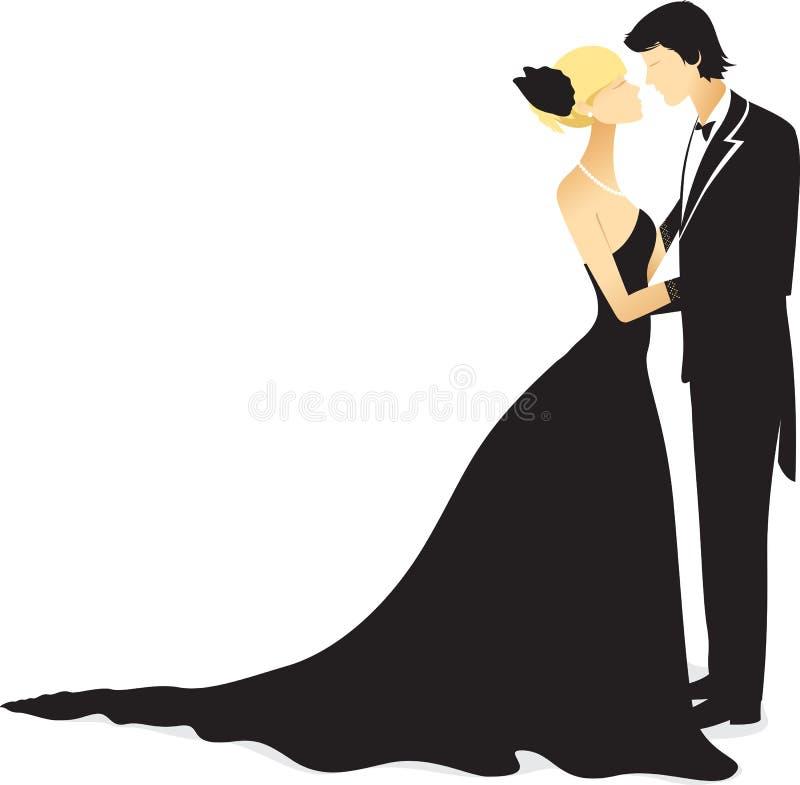 para taniec ilustracji