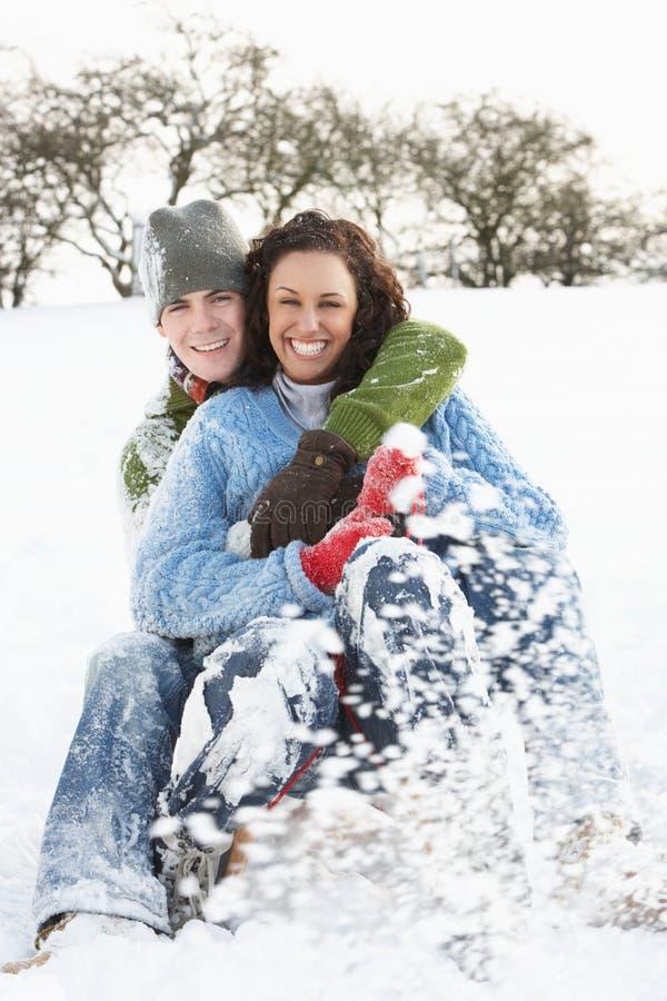 para target2668_1_ śnieżnego las zdjęcia royalty free