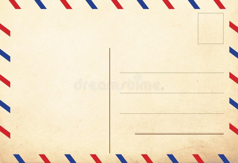 Para trás de cartão do vintage fotos de stock royalty free
