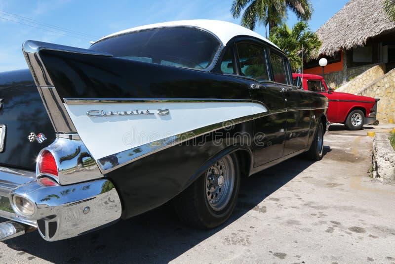 Para trás de Chevrolet clássico maravilhoso mantained perfeitamente foto de stock royalty free