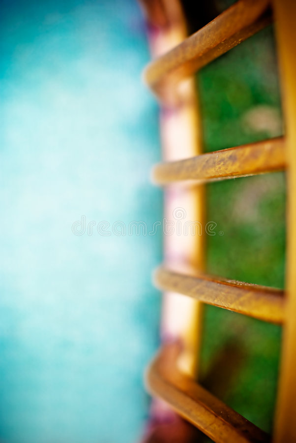 Para trás de uma cadeira IV fotografia de stock