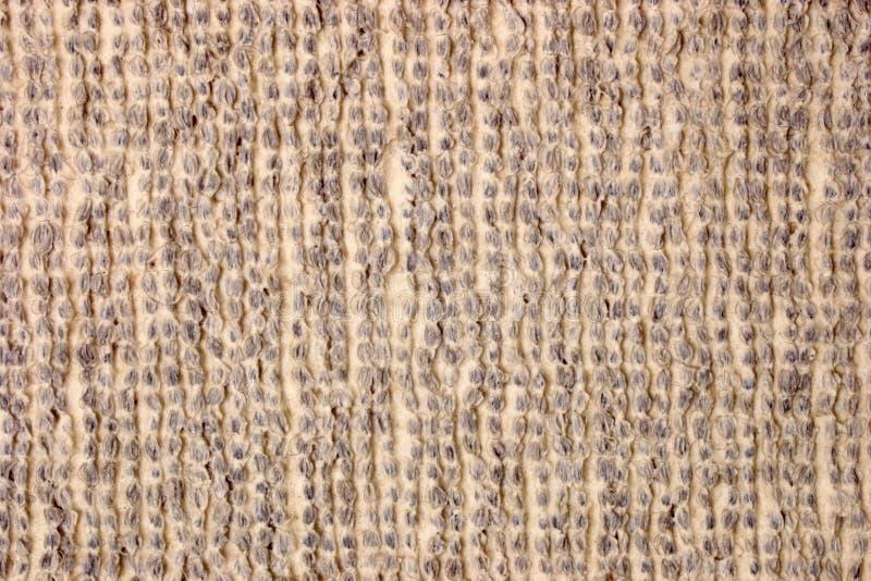Para trás de uma textura do tapete - Brown fotografia de stock royalty free