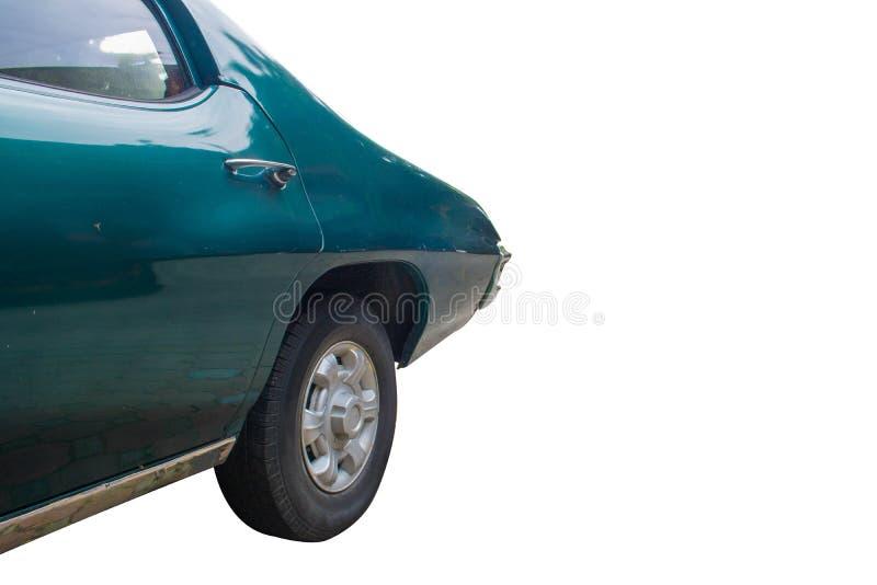 Para trás do carro do vintage imagens de stock