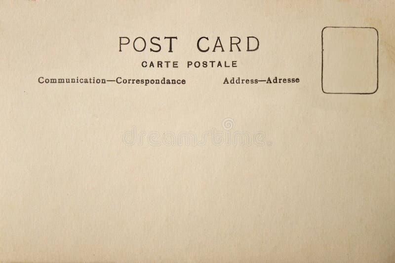 Para trás do cartão da placa do vintage fotos de stock royalty free